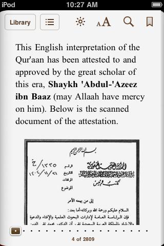 English download quran epub